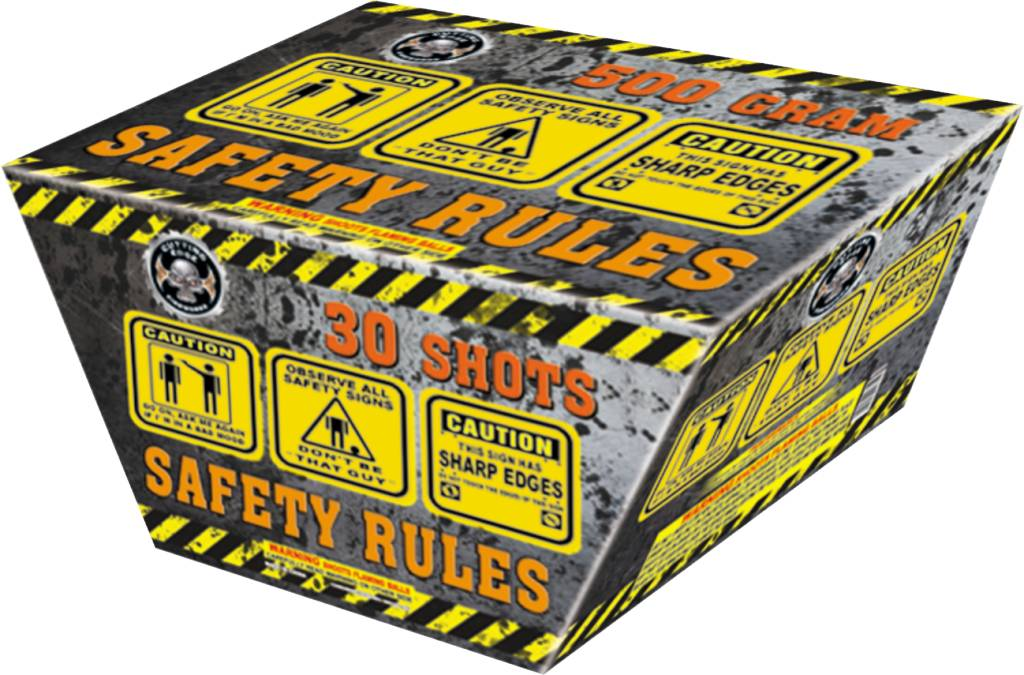 Cutting Edge Safety Rules