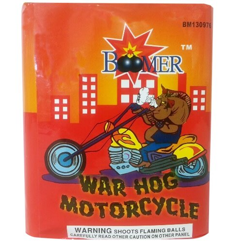 Boomer War Hog Motorcycle