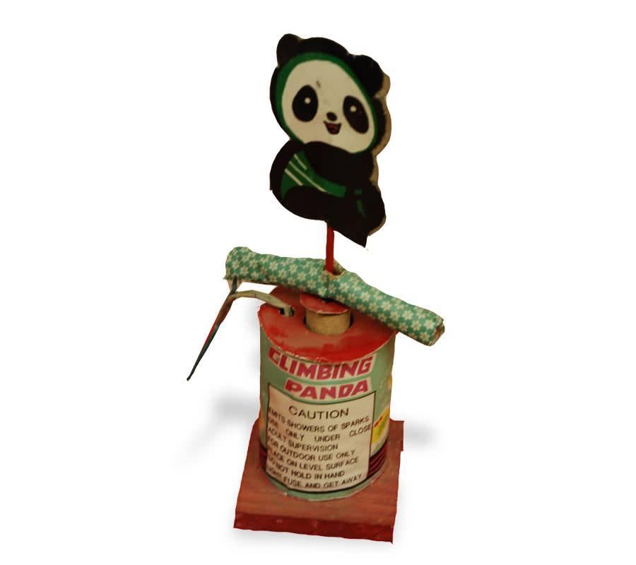 Boomer Climbing Panda - Pack 6/1