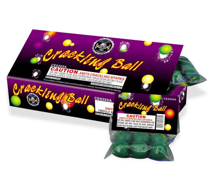 Cutting Edge Crackling Ball, CE - Box 12/6