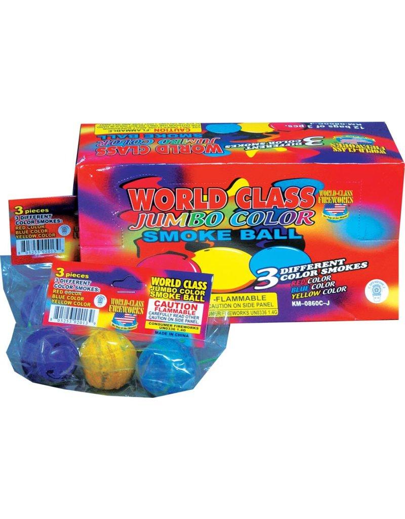 World Class Jumbo Smoke Ball - Box 12/3