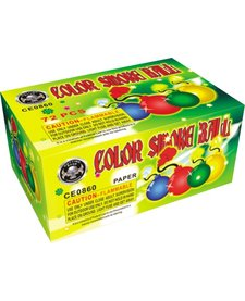 Assorted Color Smoke Ball (clay), CE - Box 6/12