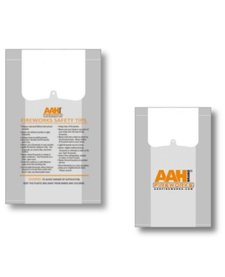AAH® Plastic Carry Bags - Case 500/1