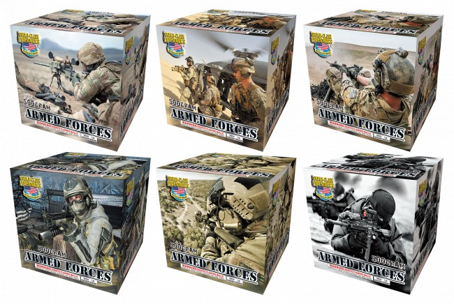 World Class Armed Forces (Assorted) - Case 6/1