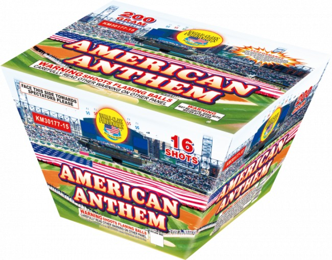 World Class American Anthem - Case 12/1