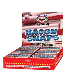 Bacon Adult Snaps - Box 30/20