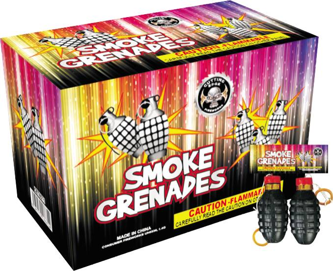 Cutting Edge Smoke Grenades, CE - Box 48/2