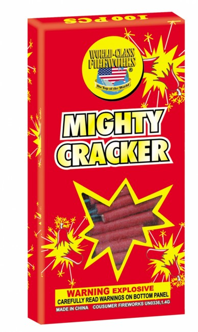 World Class Mighty Cracker, WC - Case 100/100