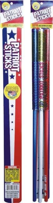 World Class Patriot Sticks - Pack 3/1