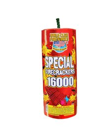 Special Crackers 16000s, WC