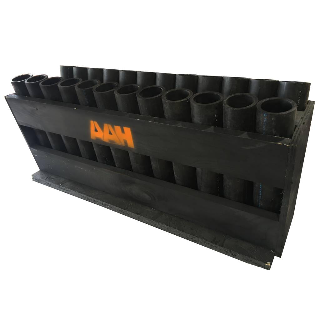 AAH 24s Angled HDPE Rack