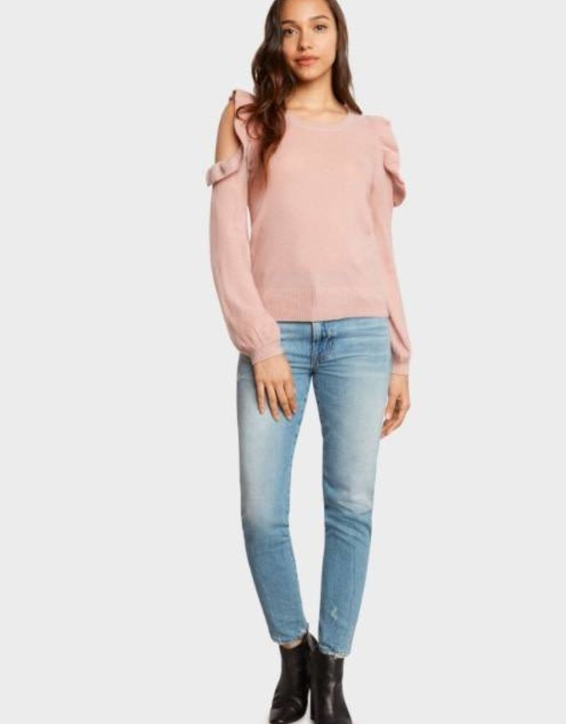Willow & Clay Willow & Clay grace cold shoulder ruffle sweater