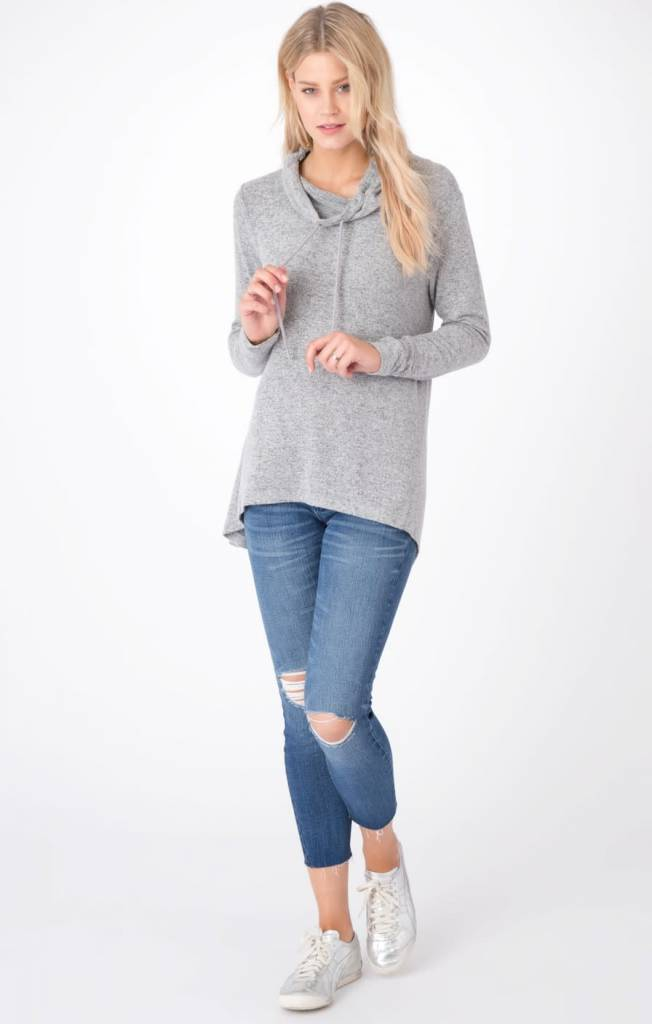 Z Supply Z Supply marled cowl neck sweater