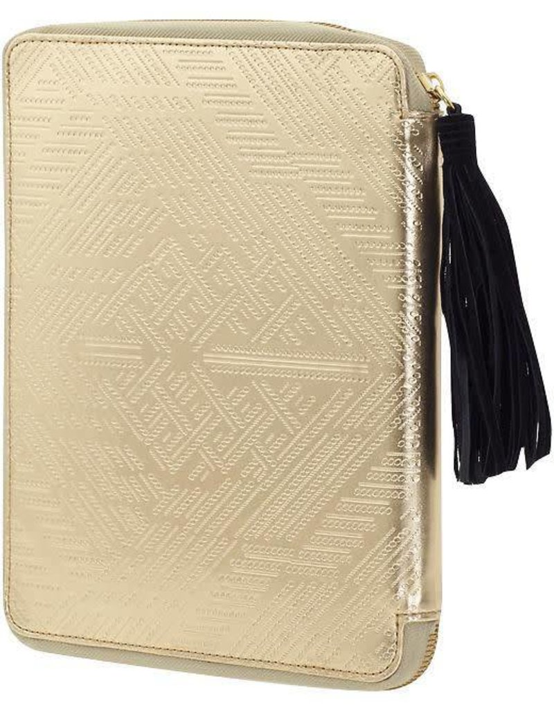 Cynthia Vincent etched metallic ipad case