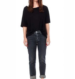 Hudson riley crop relaxed straight