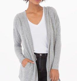 Z Supply marled hoodie cardigan