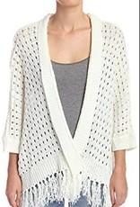 aztec fringe shawl