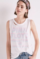 Lucky pink floyd strappy back tank