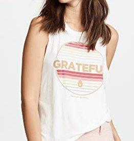 Spiritual Gangster grateful stripe muscle tank