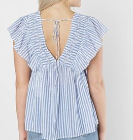 Lucky stripe phoebe top