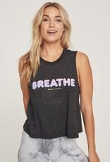 Spiritual Gangster breathe crop tank
