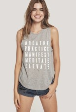 Spiritual Gangster practice muscle tank