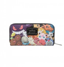 Wallet Deluxe Faux Leather Pokemon