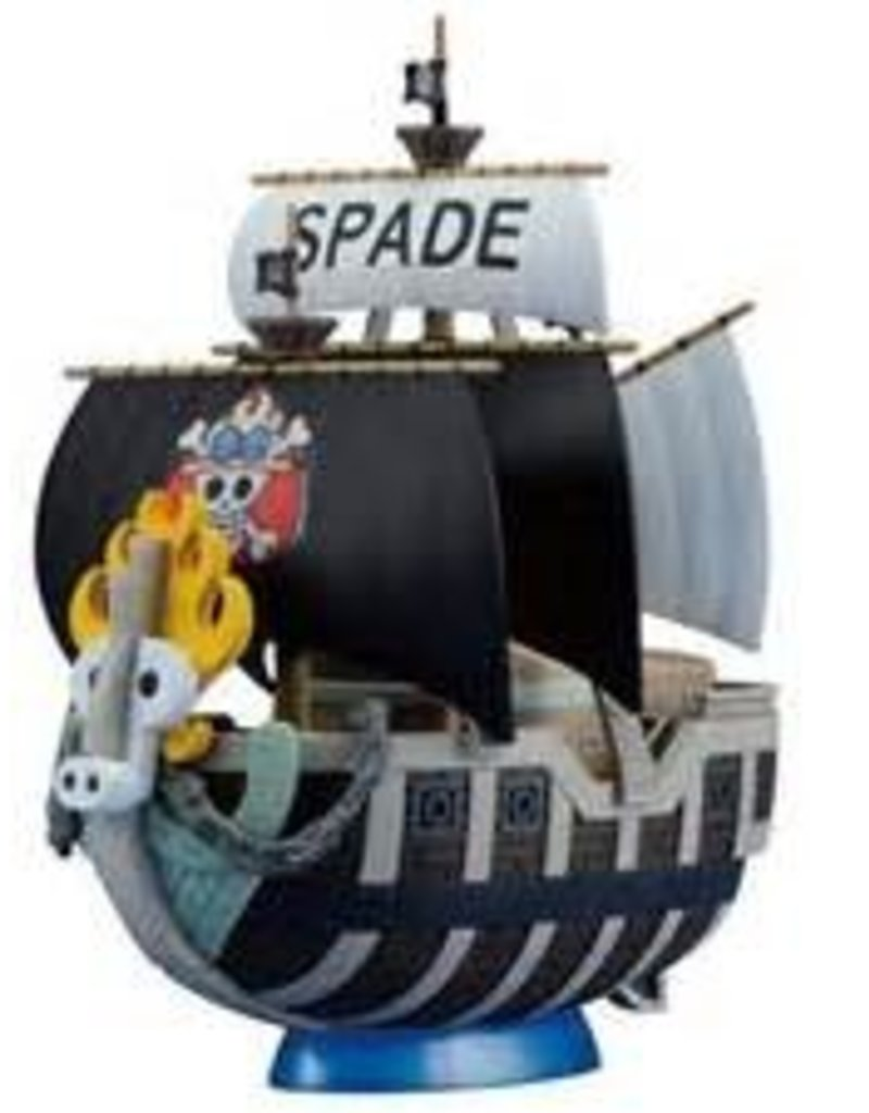 Model One Piece Spade Pirate Ship