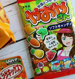 Candy Japanese Gummy Veggies
