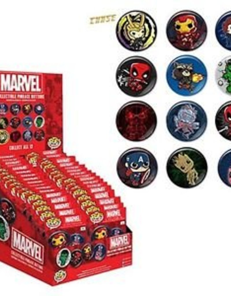 Button Marvel Mystery