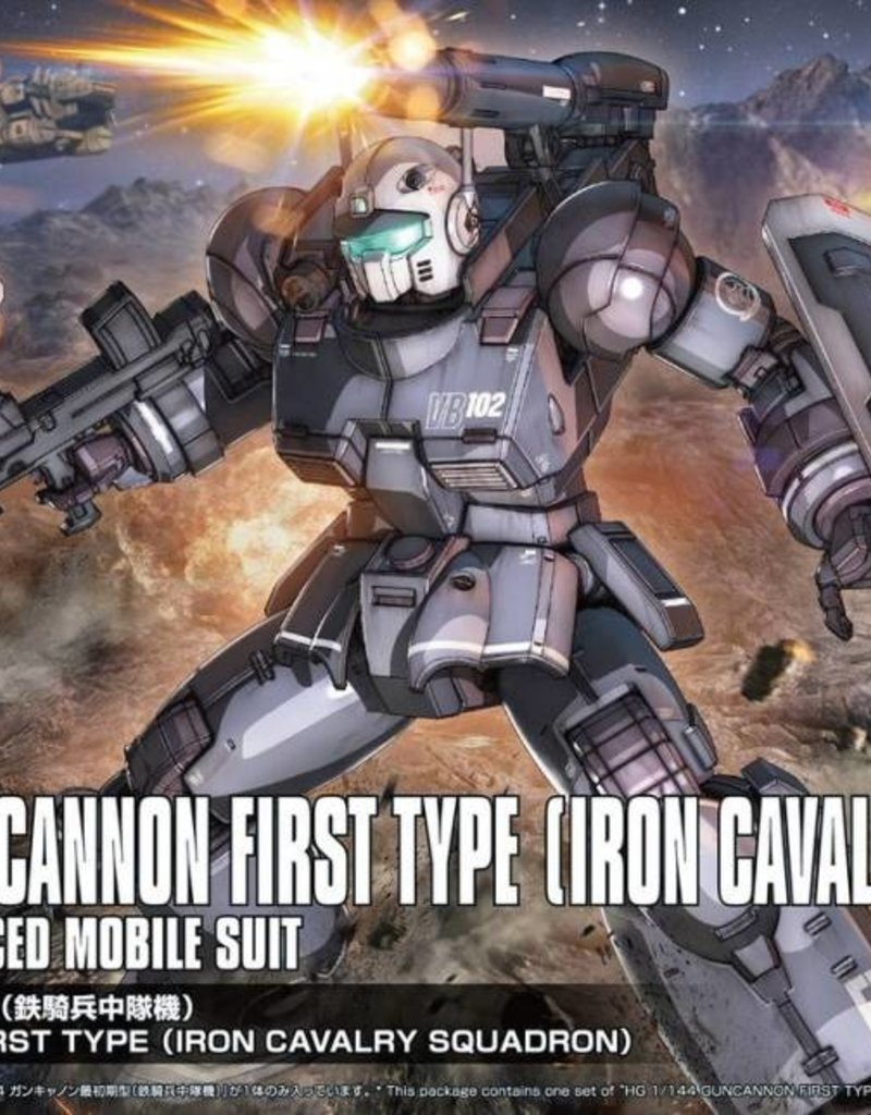 Model Gundam Guncannon 1st Type Iron Cavalry