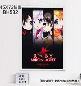 Wall scroll RWBY Moonlight