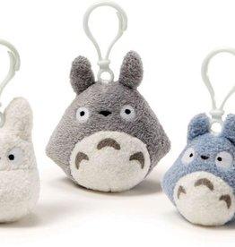 Totoro Plush Backpack Clip Blue