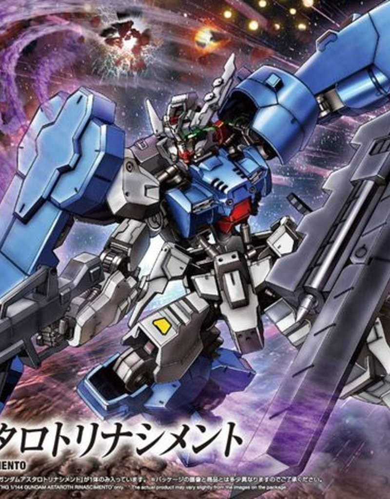 Gundam IBO Astaroth Rinascimento High Grade 1:144 Scale Model Kit