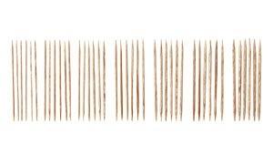 """Knitpicks 4"""" Sunstruck Wood Double Pointed Knitting Needle Set, US 0-4"""