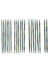 "Knitpicks 4"" Caspian Wood Double Pointed Needles Set, US 0-4"