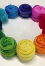 Frabjous Fibers Three Feet of Sheep, Merino Rainbow, 8 oz by Frabjous FIbers