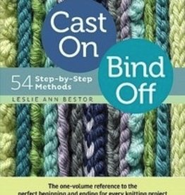 Unicorn Books & Crafts, Inc. Cast On, Bind Off: 54 Step-by-Step Methods