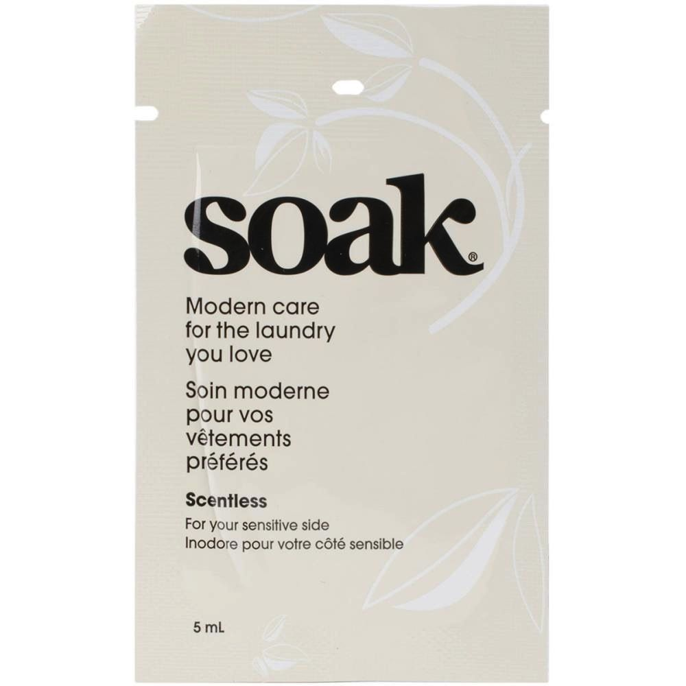 SOAK soak, single use, Scentless