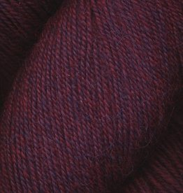 Queensland Collection Llama Lace Melange - Red Plums by Queensland Collection