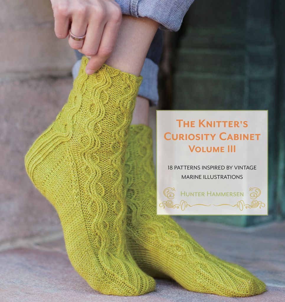 Pantsville Press The Knitter's Curiousity Cabinet, Volume 3: 18 Patterns Inspired by Vintage Marine Illustrations