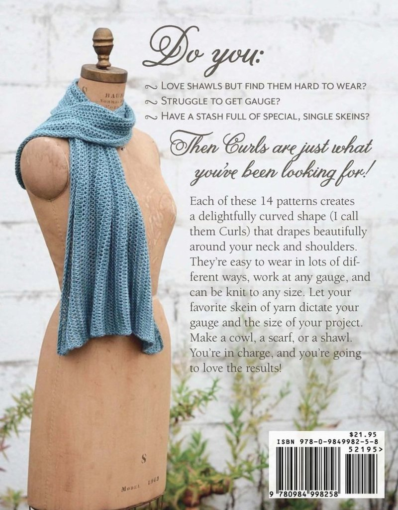 Pantsville Press Curls: Versatile, Wearable Wraps to Knit any Gauge