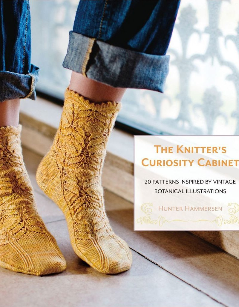 Pantsville Press The Knitter's Curiousity Cabinet, Volume 1: 20 Patterns Inspired by Vintage Botanical Illustrations