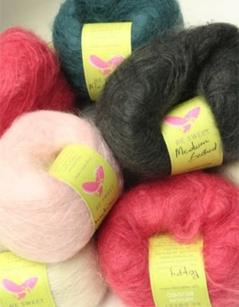 Medium Brushed Mohair, Sand by Be Sweet