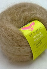 Medium Brushed Mohair, Dark Camel by Be Sweet