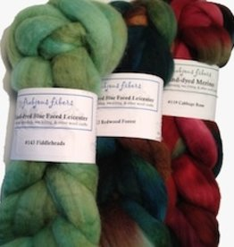 Frabjous Fibers BFL by Frabjous Fibers, 4 oz braid