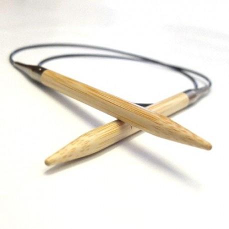 """Hiya Hiya 24"""" Bamboo Circular needle by HiyaHiya"""