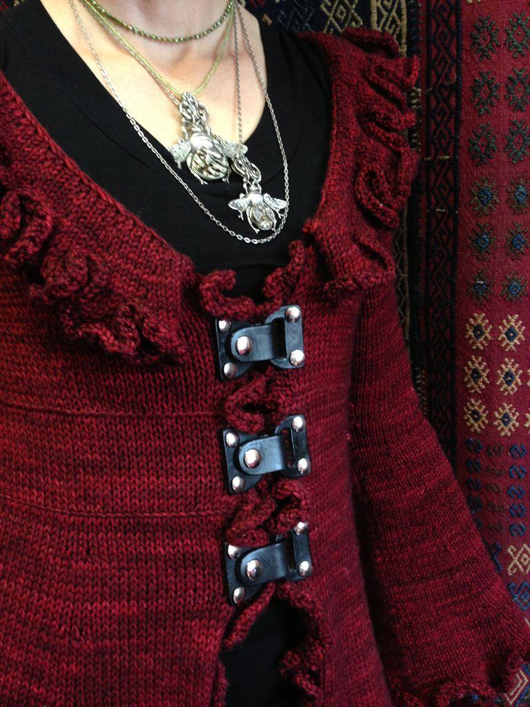 Jul Designs Jul Black Lock Toggle Leather Closure