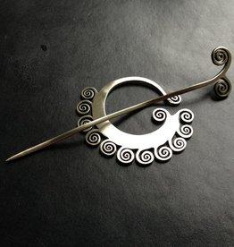Jul Designs Jul Shawl Pin - Coil