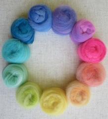 Frabjous Fibers Three Feet of Sheep, BFL Capital Colors, 8 oz by Frabjous Fibers